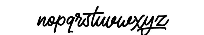 AutoRich Font LOWERCASE