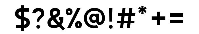 Autorich Sans Lite Font OTHER CHARS