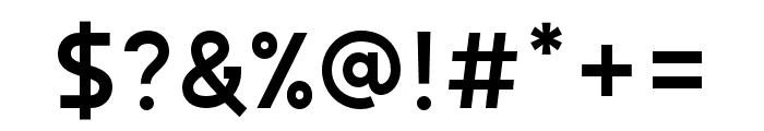 AutorichSansLite Font OTHER CHARS