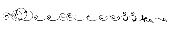 Avertastevia Ornamenta 1 Regular Font LOWERCASE