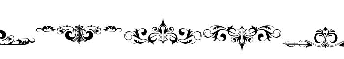 AvertasteviaOrnamenta2-Regular Font UPPERCASE