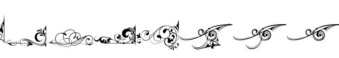 AvertasteviaOrnamenta2-Regular Font LOWERCASE