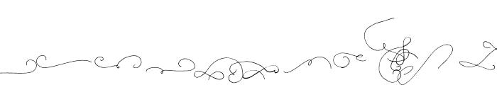Be Grateful Swash Script Font UPPERCASE
