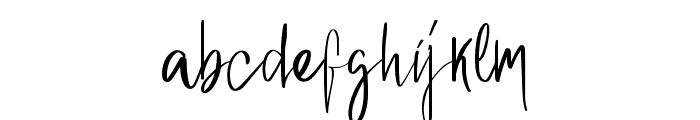 Berlinda Font LOWERCASE