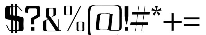 Bethan Regular Font OTHER CHARS