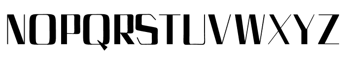 Bethan Regular Font UPPERCASE