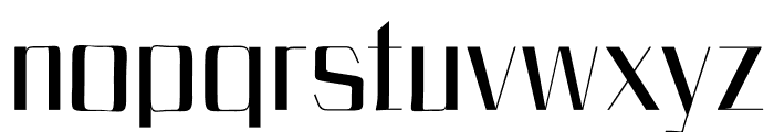 Bethan Regular Font LOWERCASE