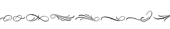 Black Angela Swash Font OTHER CHARS