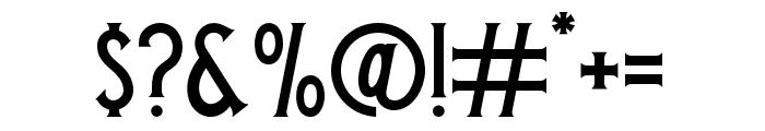 BlackVelvet2 Font OTHER CHARS
