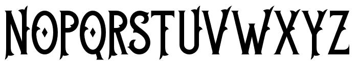 BlackVelvet2 Font UPPERCASE