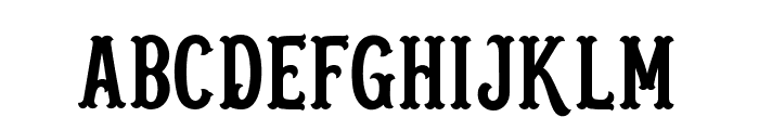 Blastrick Normal Font UPPERCASE