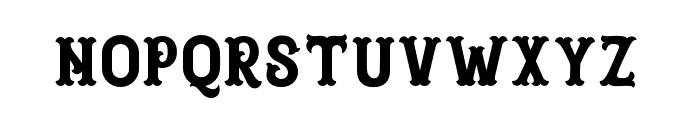 Blastrick Normal Font LOWERCASE