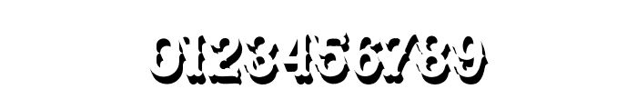 Blastrick Special Shadow Font OTHER CHARS