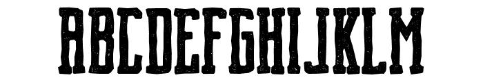 Brch Hand Drawn Font UPPERCASE