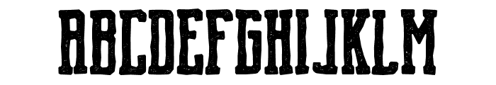 Brch Hand Drawn Font LOWERCASE
