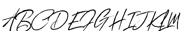 Brewery Vector Brush  Regular Font UPPERCASE