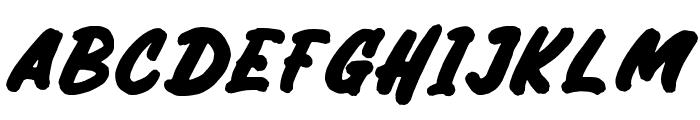Bricktoms Regular Font UPPERCASE