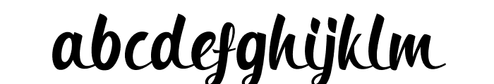 Bringin Regular Font LOWERCASE