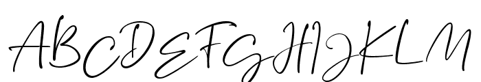 Brittanya Goldenite Regular Font UPPERCASE