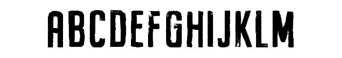 BuckwheatTC-Painted Font UPPERCASE