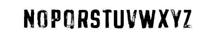 BuckwheatTC-Painted Font LOWERCASE
