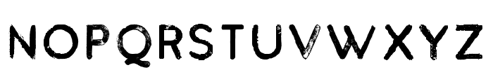 BuckwheatTCSans-Painted Font UPPERCASE