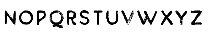 BuckwheatTCSans-Painted Font LOWERCASE