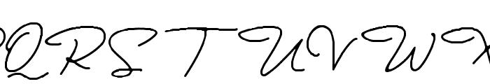 Bullstander Font UPPERCASE