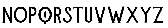 Burtons-Regular Font UPPERCASE