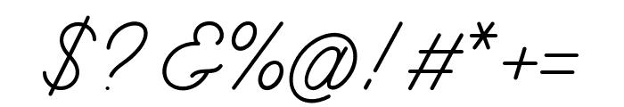 BurtonsScript-Regular Font OTHER CHARS