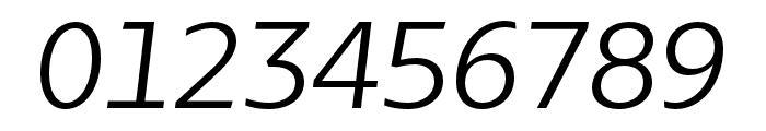 Bw Glenn Sans Regular Italic Font OTHER CHARS