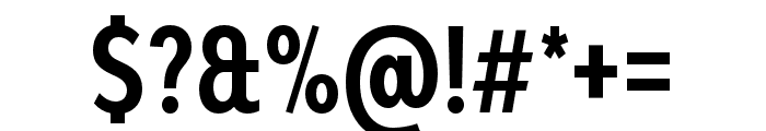 Bw Modelica Bold Ultra Condensed Font OTHER CHARS
