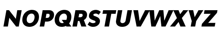 Bw Modelica SS01 Black Condensed Italic Font UPPERCASE