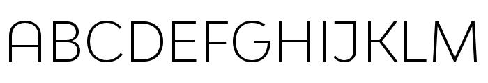 Bw Modelica SS01 Light Font UPPERCASE