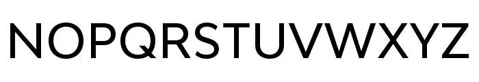 Bw Modelica SS01 Medium Font UPPERCASE