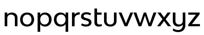 Bw Modelica SS01 Medium Font LOWERCASE