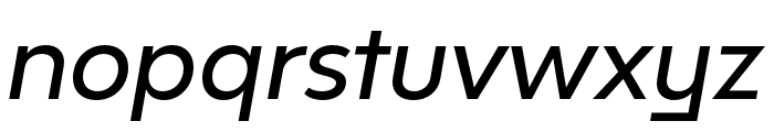Bw Modelica SS02 Medium Italic Font LOWERCASE