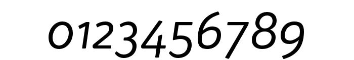 Bw Quinta Pro Regular Italic Font OTHER CHARS