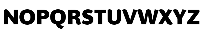 BwSurco-Black Font UPPERCASE