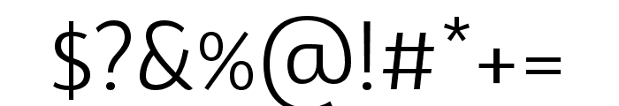 BwSurco-Book Font OTHER CHARS