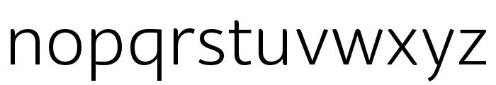 BwSurco-Book Font LOWERCASE