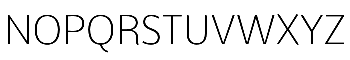 BwSurco-Light Font UPPERCASE