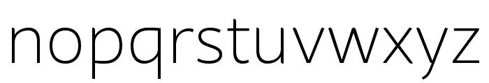 BwSurco-Light Font LOWERCASE