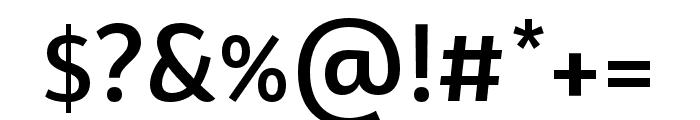 BwSurco-Medium Font OTHER CHARS