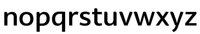 BwSurco-Medium Font LOWERCASE