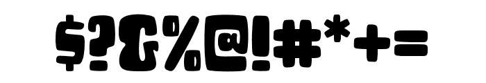 CHEESEBURGA Font OTHER CHARS
