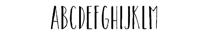 CatalinaAvalonSansLight Font LOWERCASE