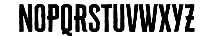 Cheddar Gothic Sans Regular Font UPPERCASE