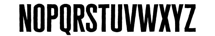 Cheddar Gothic Sans Regular Font LOWERCASE