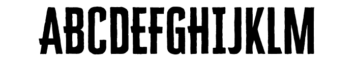 Cheddar Gothic Sans Two Bold Font UPPERCASE